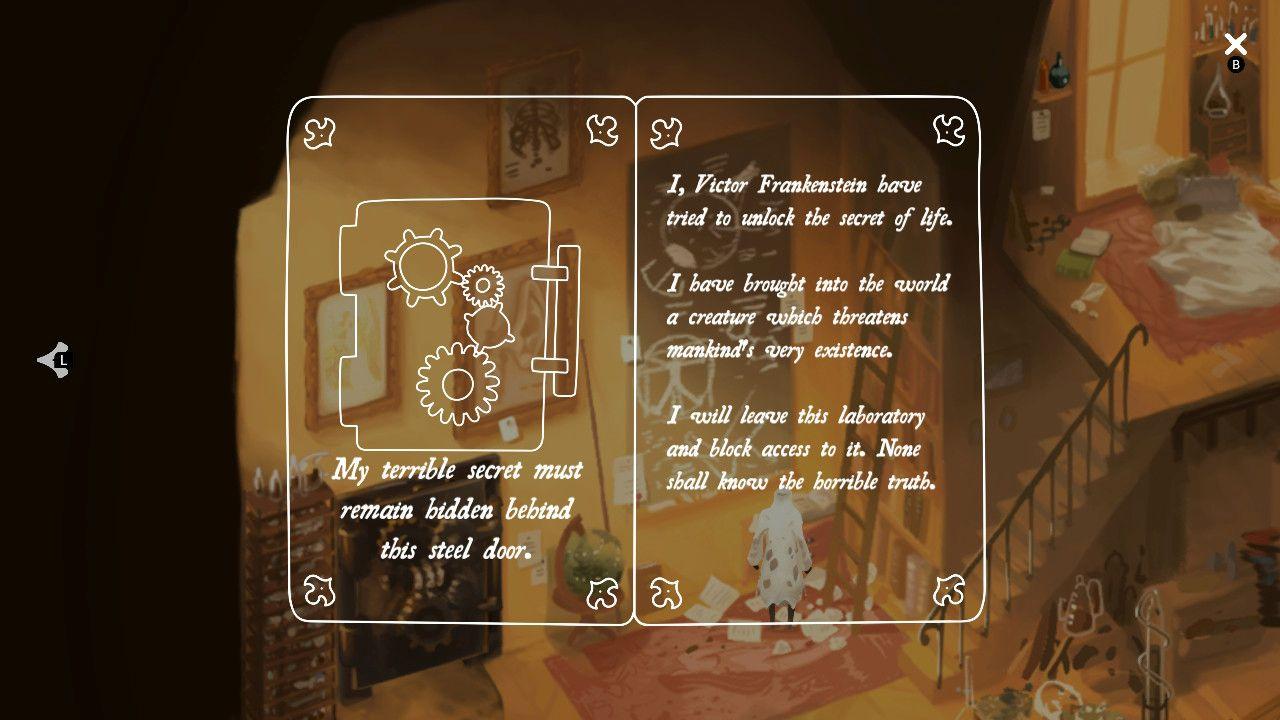 Wanderer Frankenstein's Creature Screen4