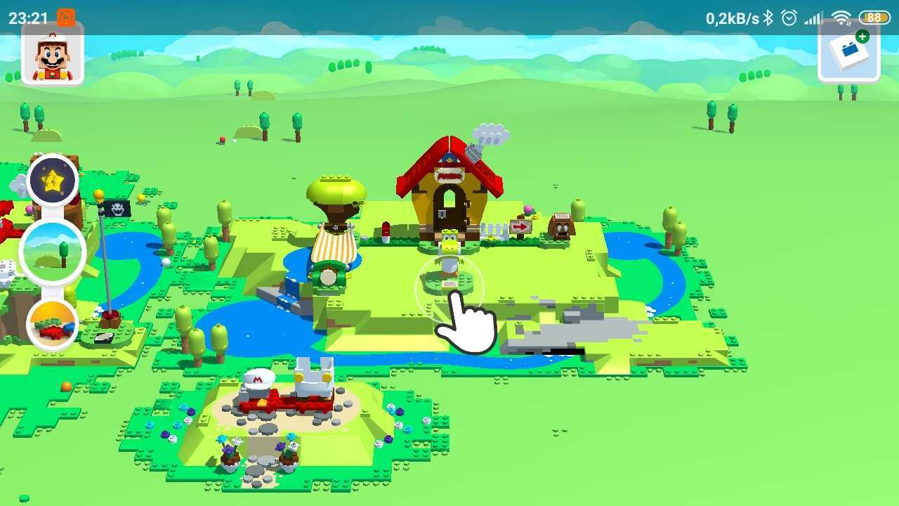 Aplikacja Lego Super Mario