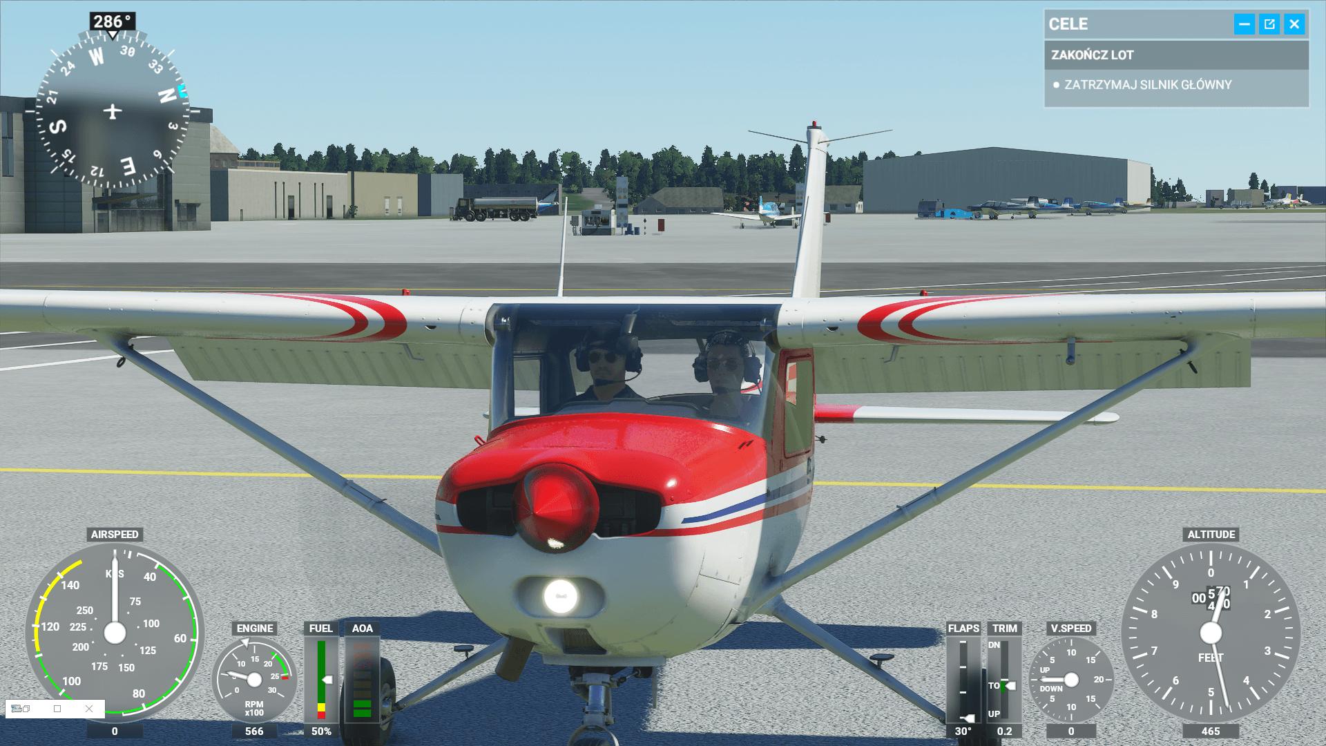 Microsoft Flight Simulator screen 3