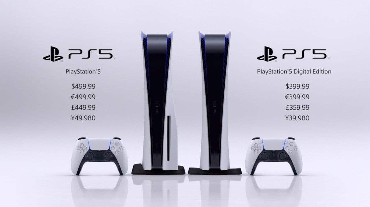 Ceny Playstation 5