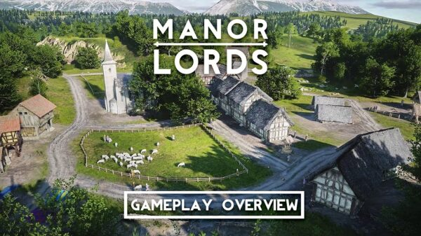 Gameplay Manor Lords