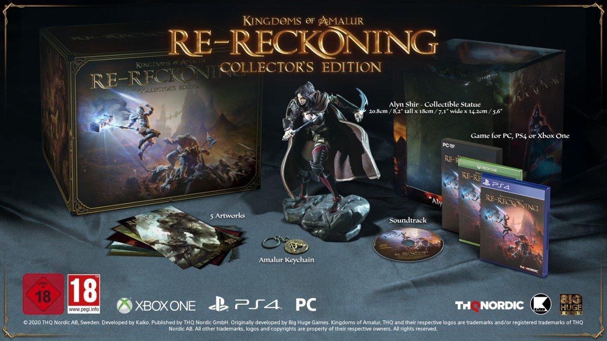 Kingdoms of amalur re reckoning edycja kolekcjonerska
