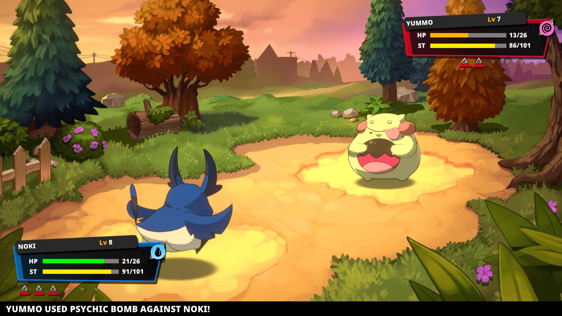 Nexomon Extinction screen 2
