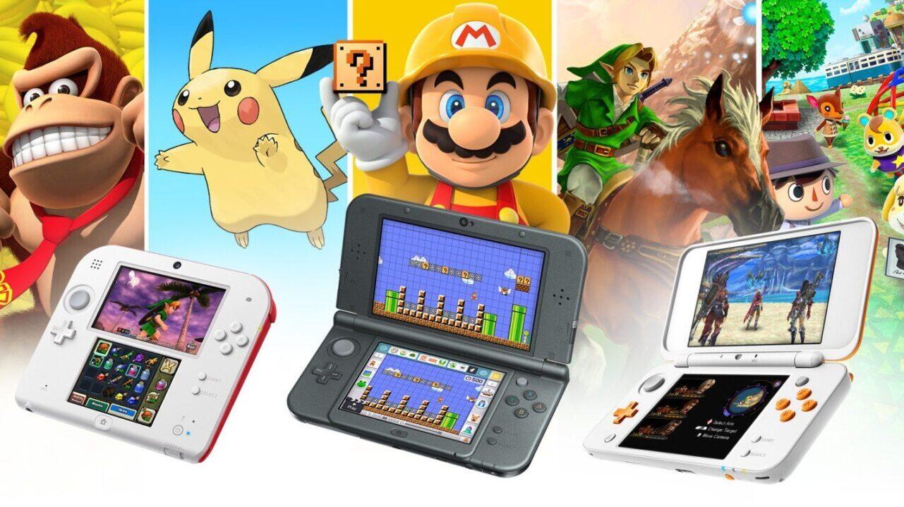 Koniec produkcji Nintedo 3DS