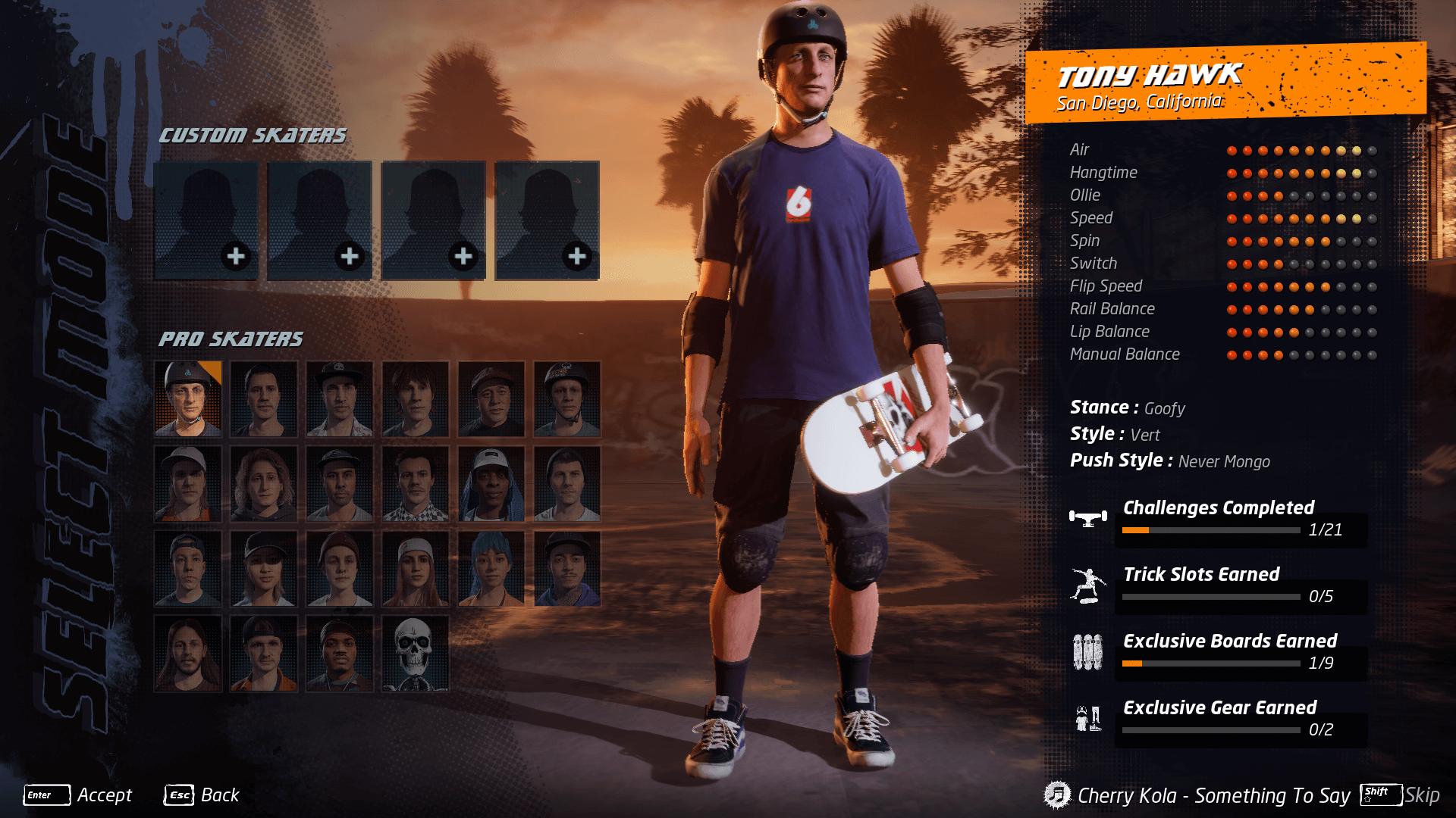 Tony Hawks Pro Skater 1+2 Screen (2)