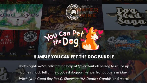 You Can Pet The Dog Humble Bundle