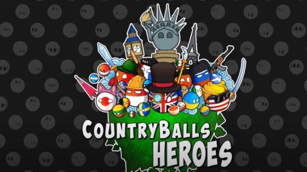 Countryballs Heroes Art
