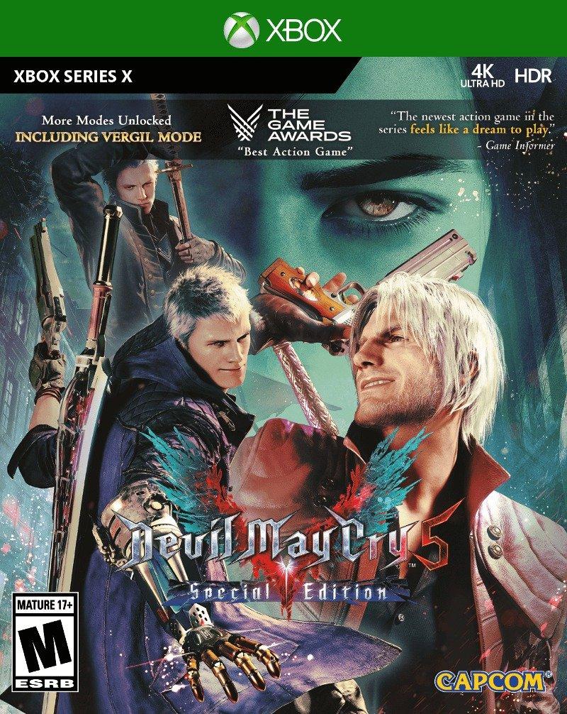 Devil May Cry 5 Special Edition okladka