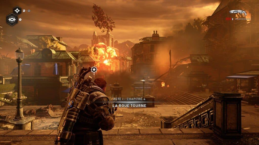 Gears 5 na Xbox Series X