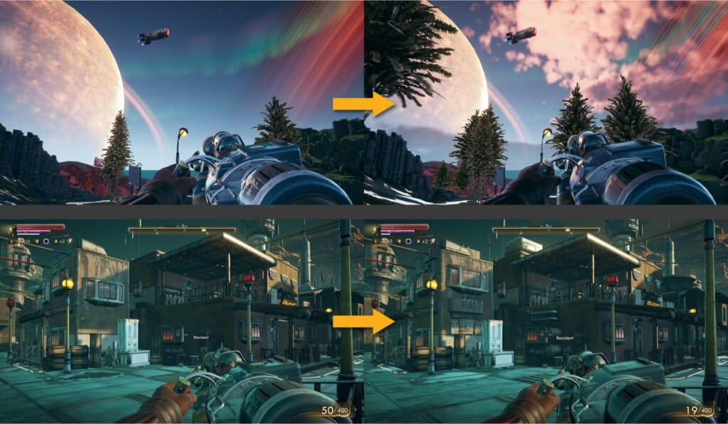 The Outer Worlds porownanie