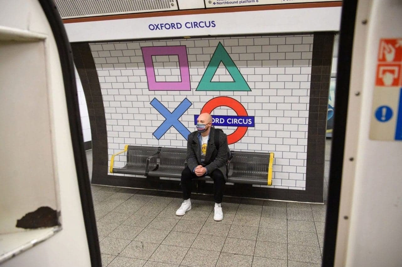 Reklama Ps5 W Londynie 2