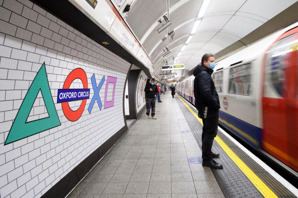 Reklama Ps5 W Londynie 3