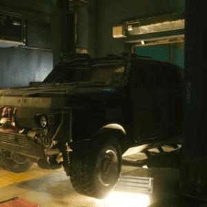 Duże Auto W Cyberpunk 2077