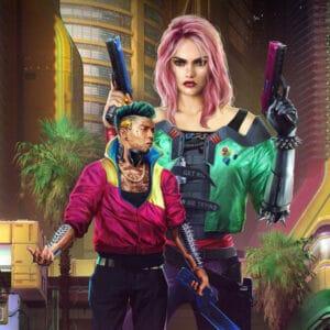 Styl W Cyberpunk 2077 Punk