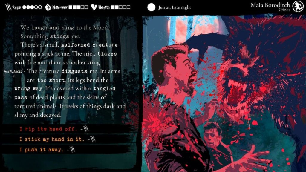 Recenzja Werewolf: The Apocalypse Heart Of The Forest 2