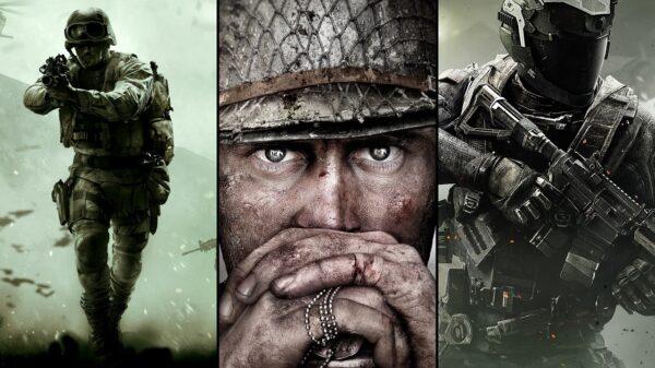 Ranking Call Of Duty Duże