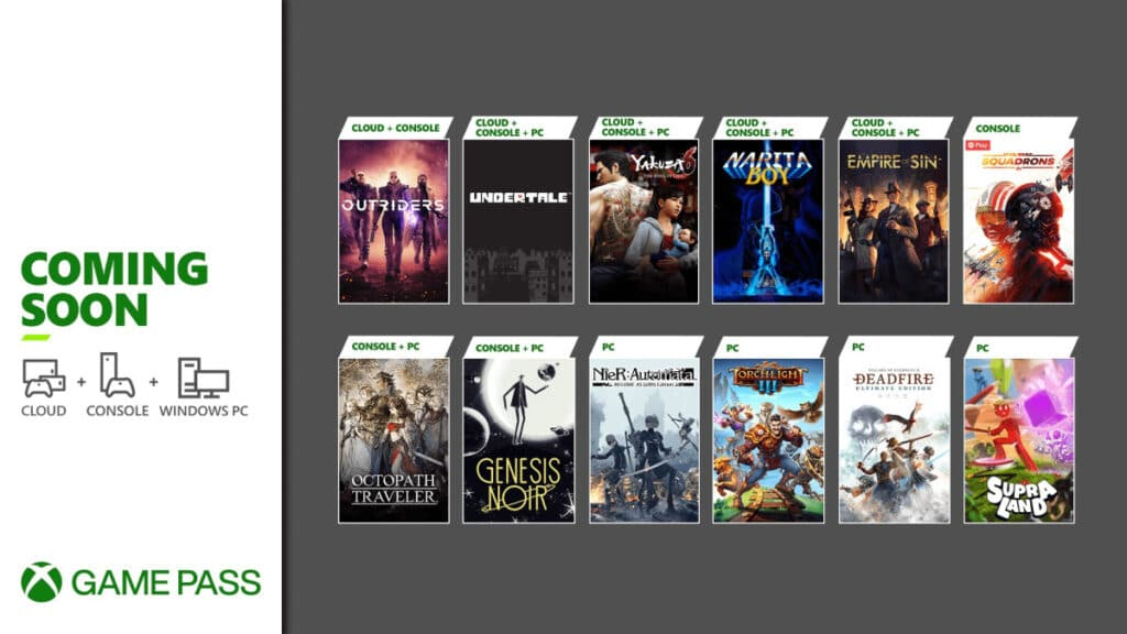 Xbox Game Pass w drugiej połowie marca