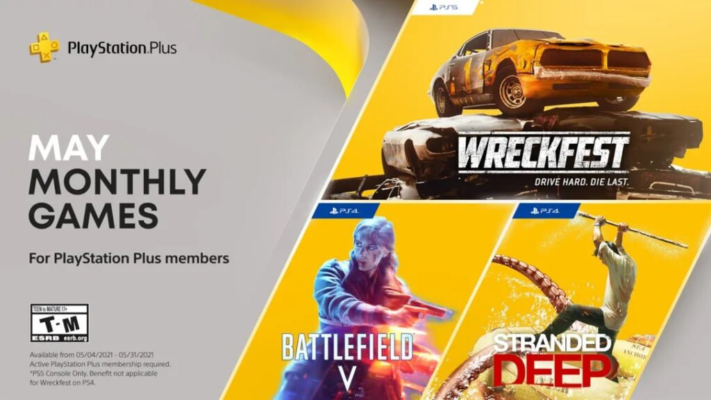 Playstation Plus Na Maj 2021