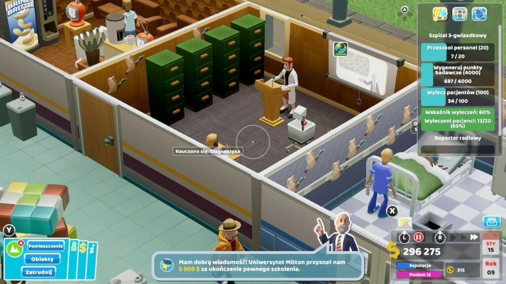 Two Point Hospital Screen1