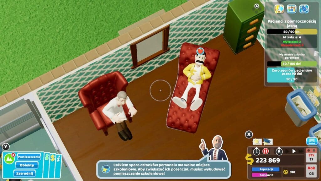 Two Point Hospital Screen4