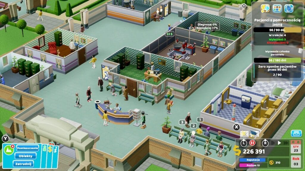 Two Point Hospital Screen6