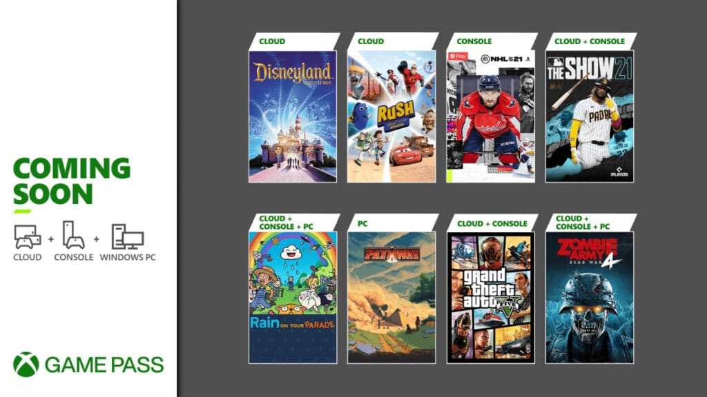 Xbox Game Pass Kwiecień 2021