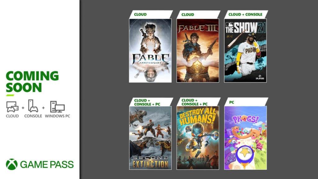 Xbox Game Pass W Drugiej Połowie Kwietnia