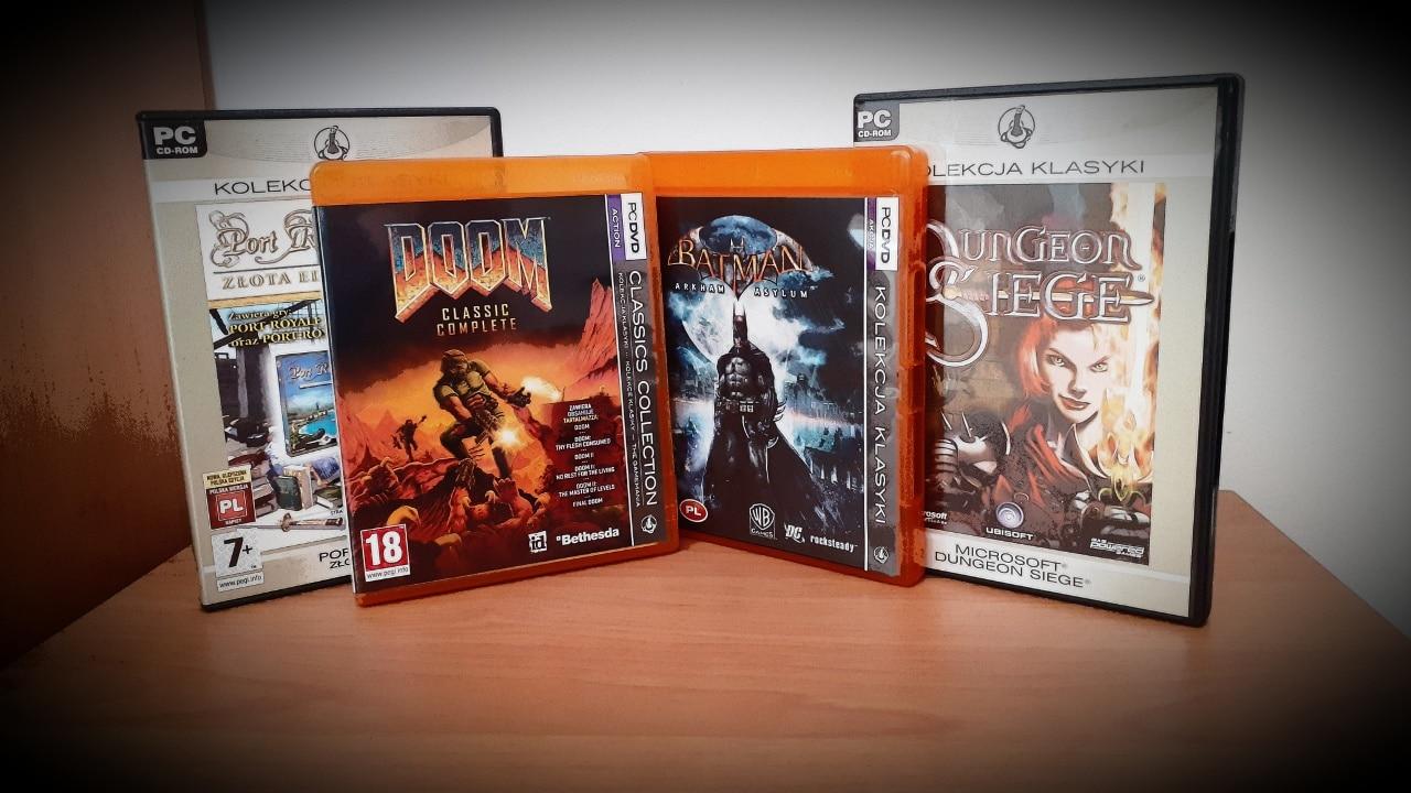 Polskie reedycje gier Kolekcja Klasyki