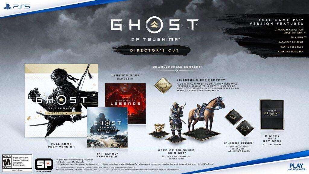 Ghost Of Tsushima Director's Cut data premiery