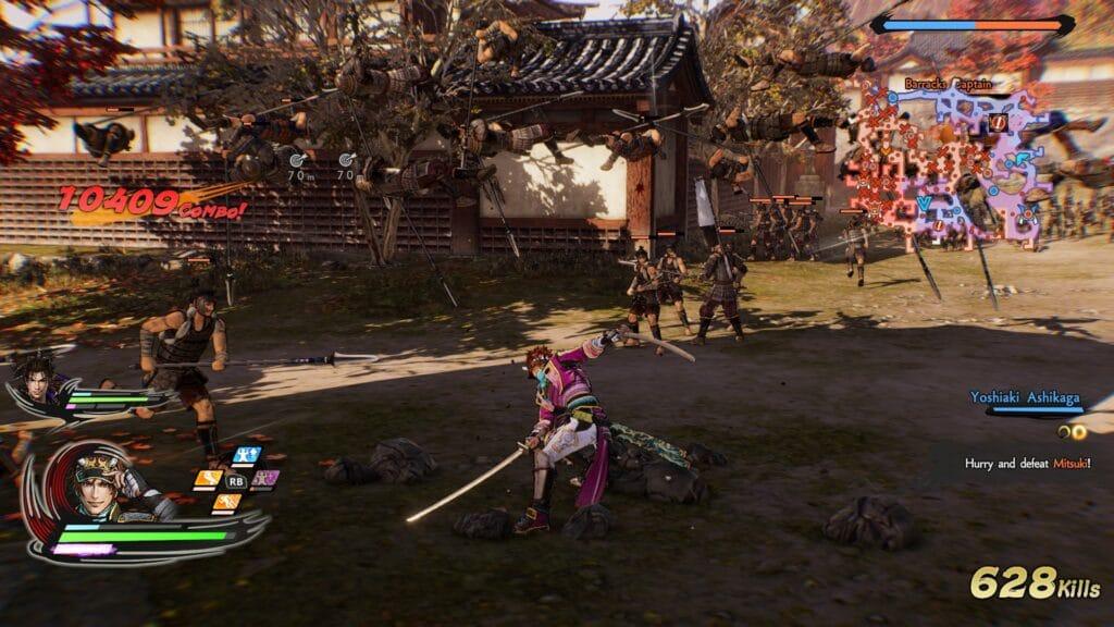 Samurai Warriors 5 screen 3