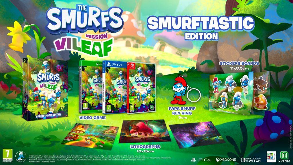 The Smurfs Mission Vileaf Edycja Smerfastyczna