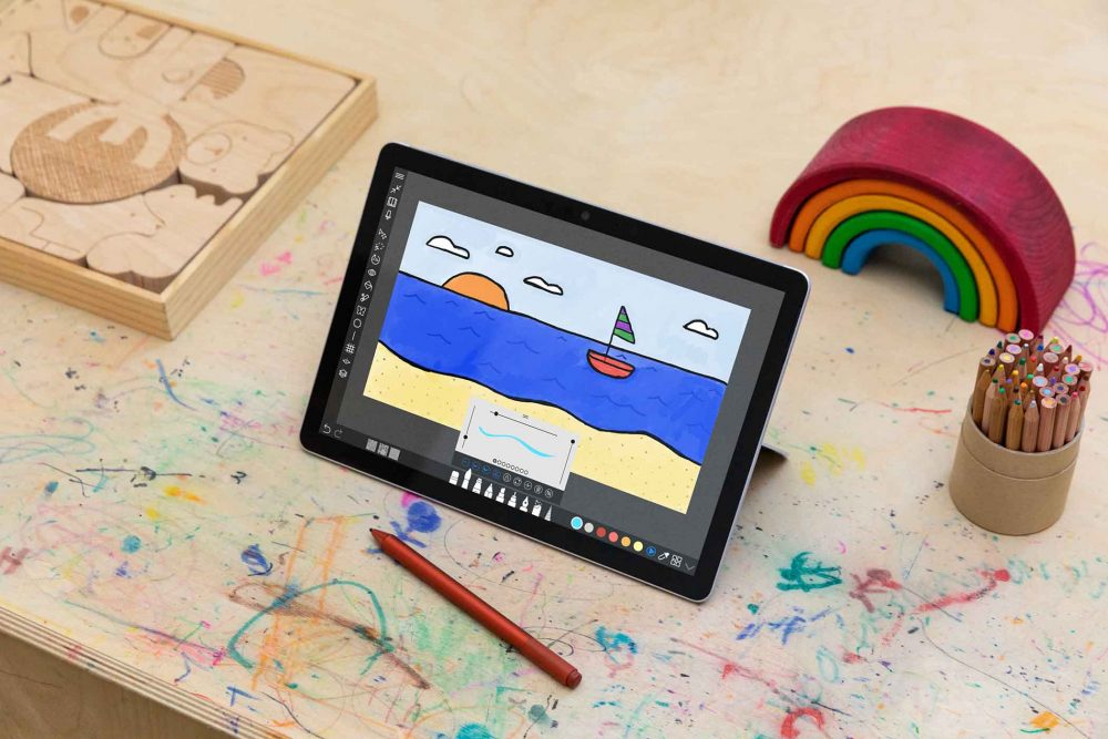 Surface Go 3 Creating 1000x667