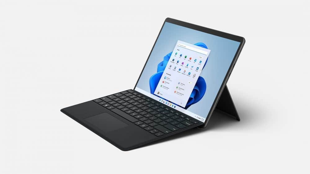 Surface Pro 8 With Type Cover 1000x562