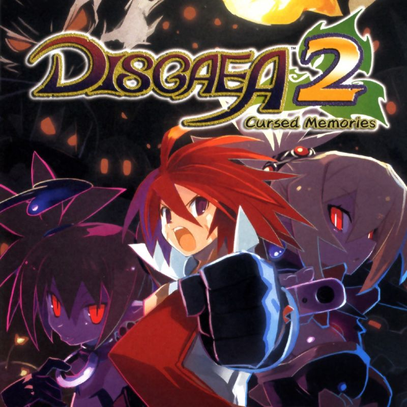 274983 disgaea 2 cursed memories playstation 3 front cover