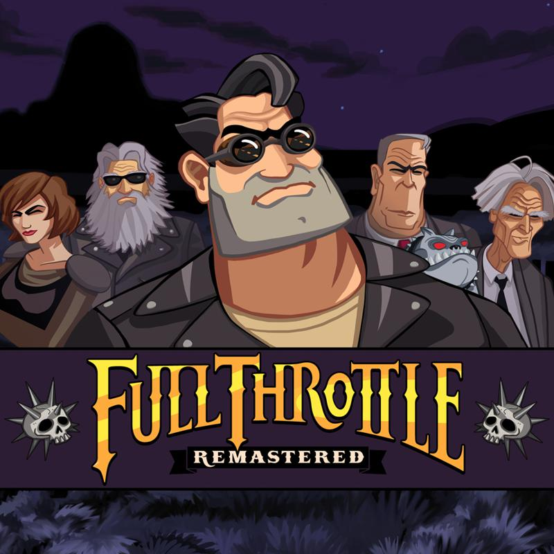 395288 full throttle remastered playstation 4 front cover