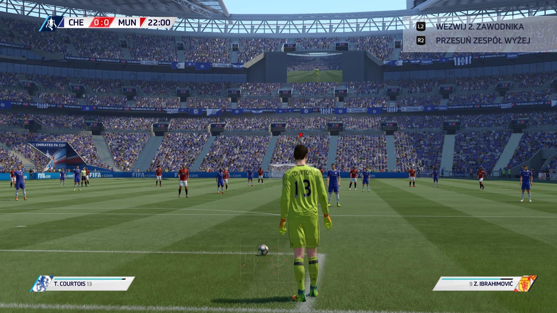 FIFA 17 Intra 0:0 CHE — MUN, 1. poł.