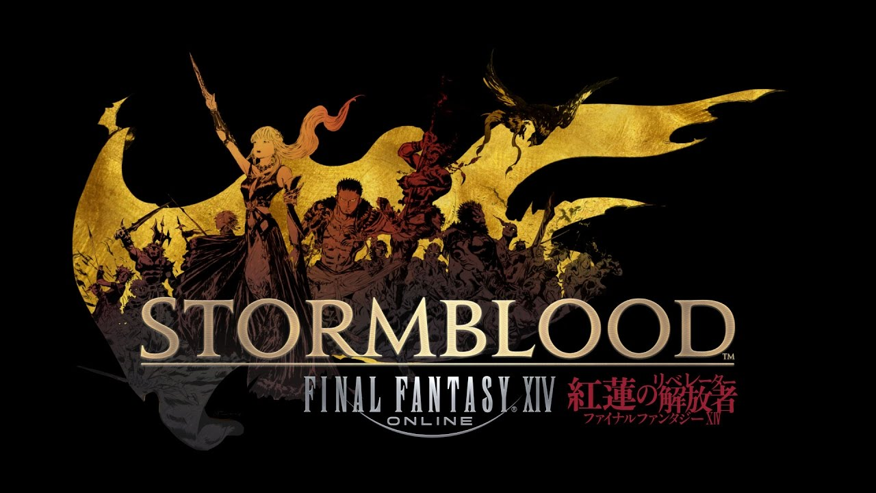 Final Fantasy XIV Stormblood logo