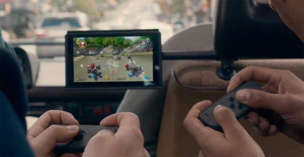 Gra na podzielonym ekranie Nintendo Switch