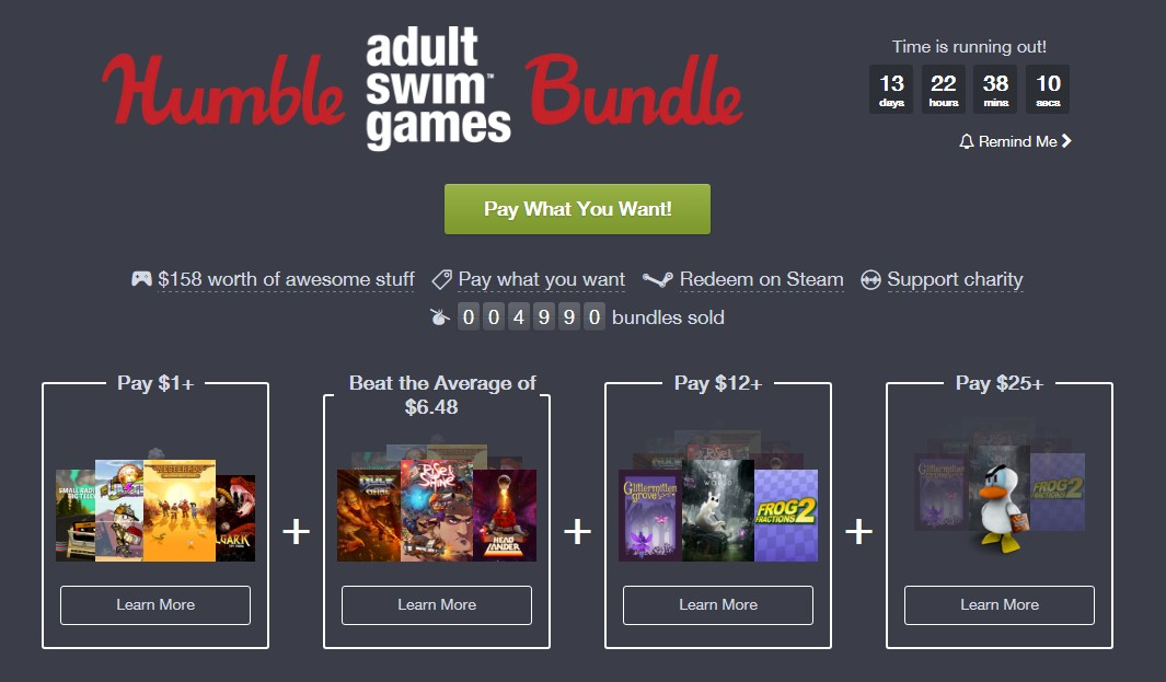 Adult share ware game