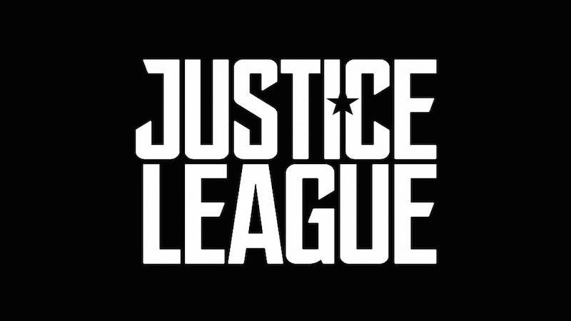 Justice League Movie Logo Black BG