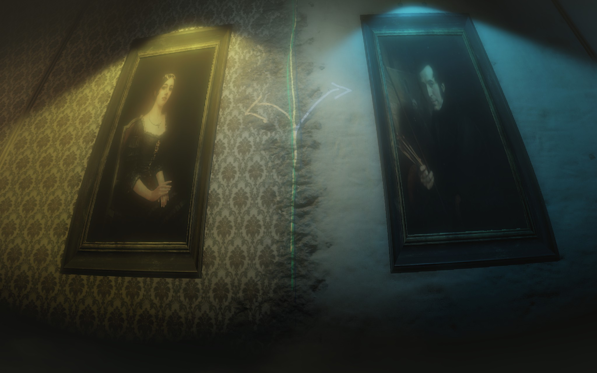Layers of Fear Inharitance