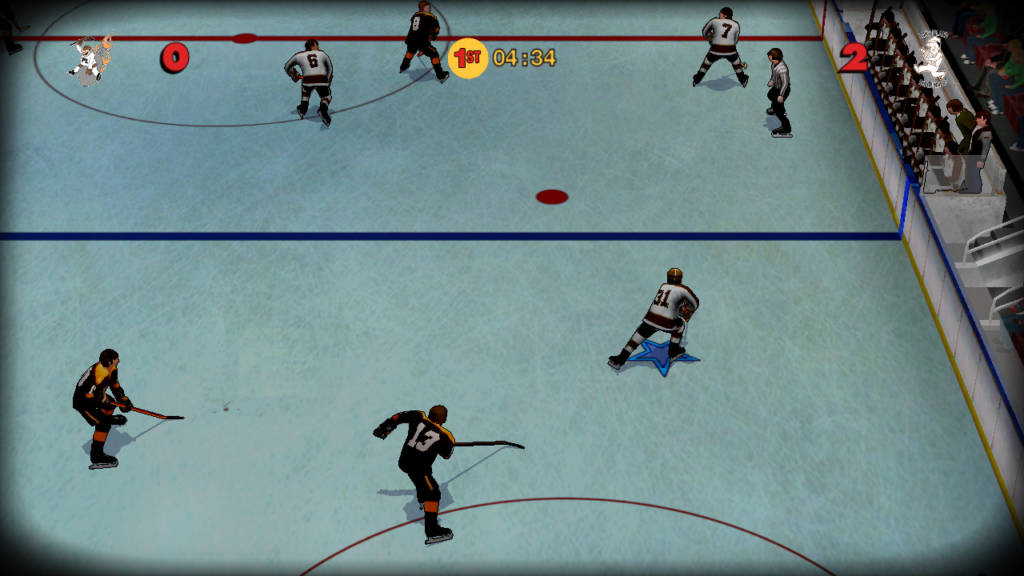 Old Time Hockey 1