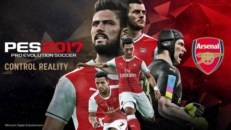 PES 2017 Arsenal