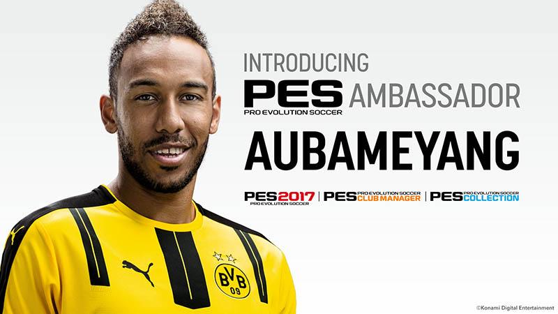PES Ambassador Aubameyang