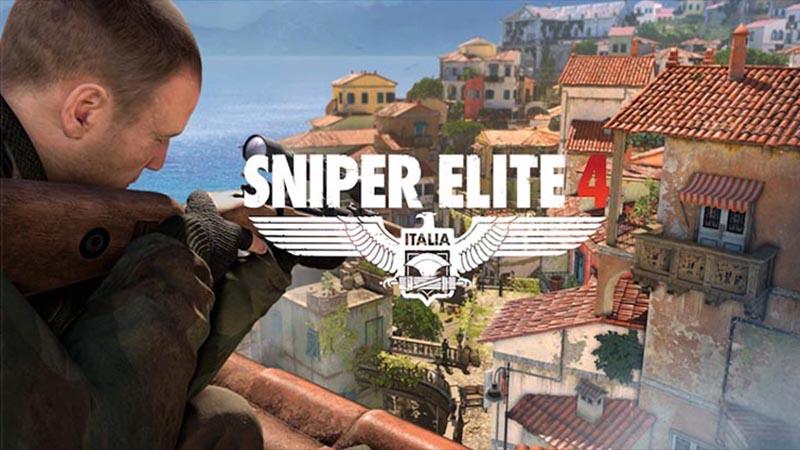 Sniper Elite 4 na grafikach koncepcyjnych
