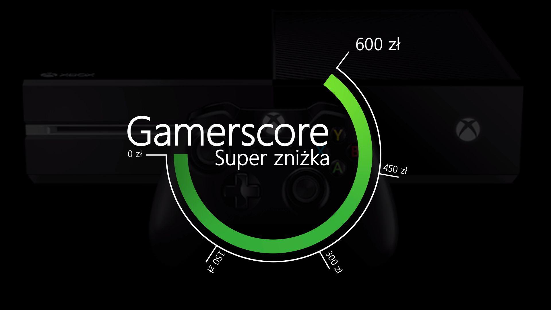 Super Zniżka za Gamerscore  a
