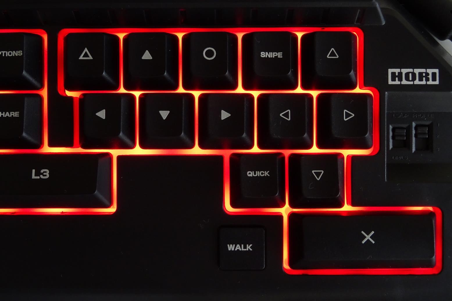 Tactical Assault Commander 4 keypad