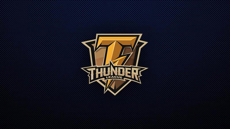 Thunder league logo