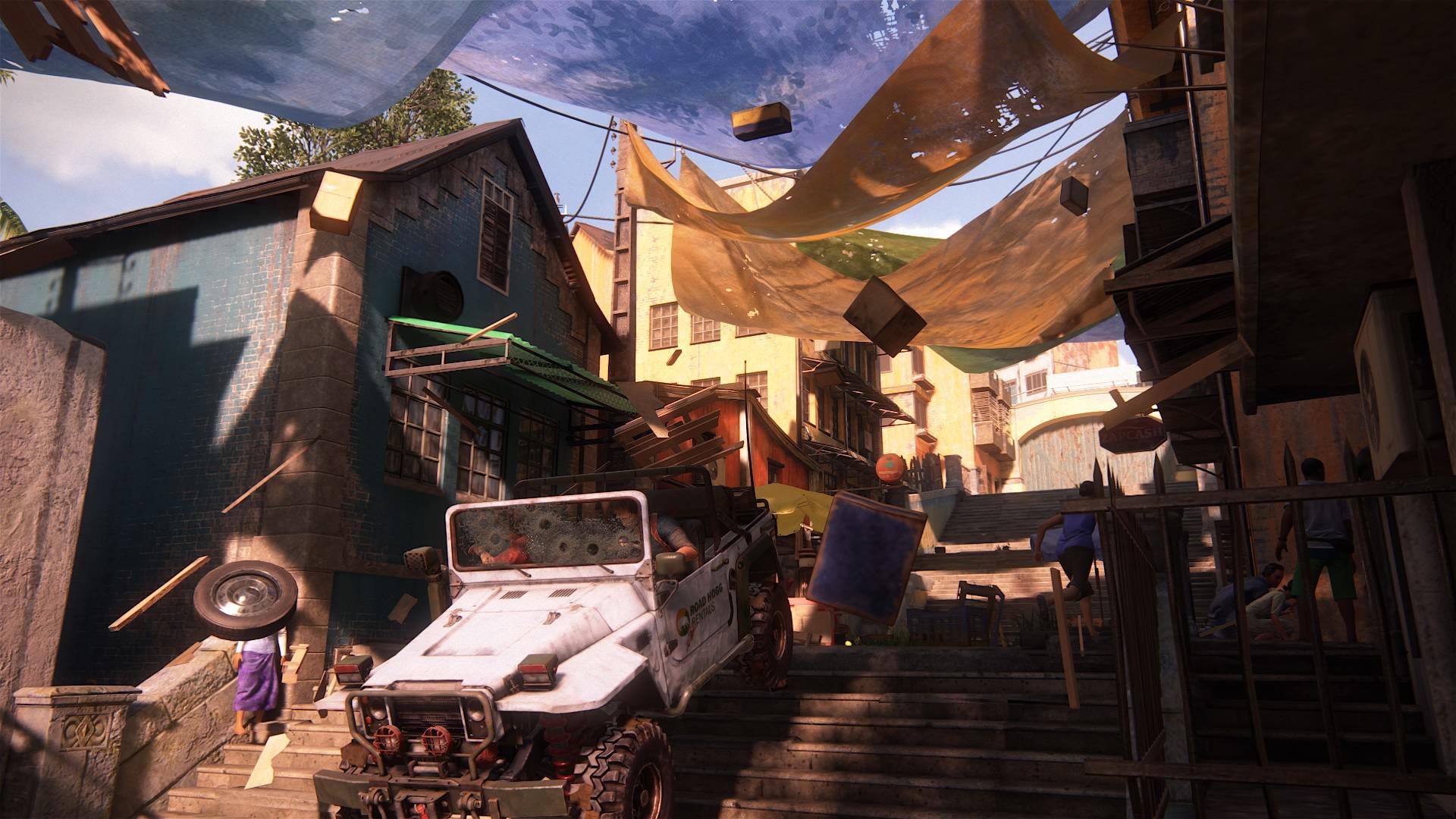 Uncharted 4 w prawdziwym życiu