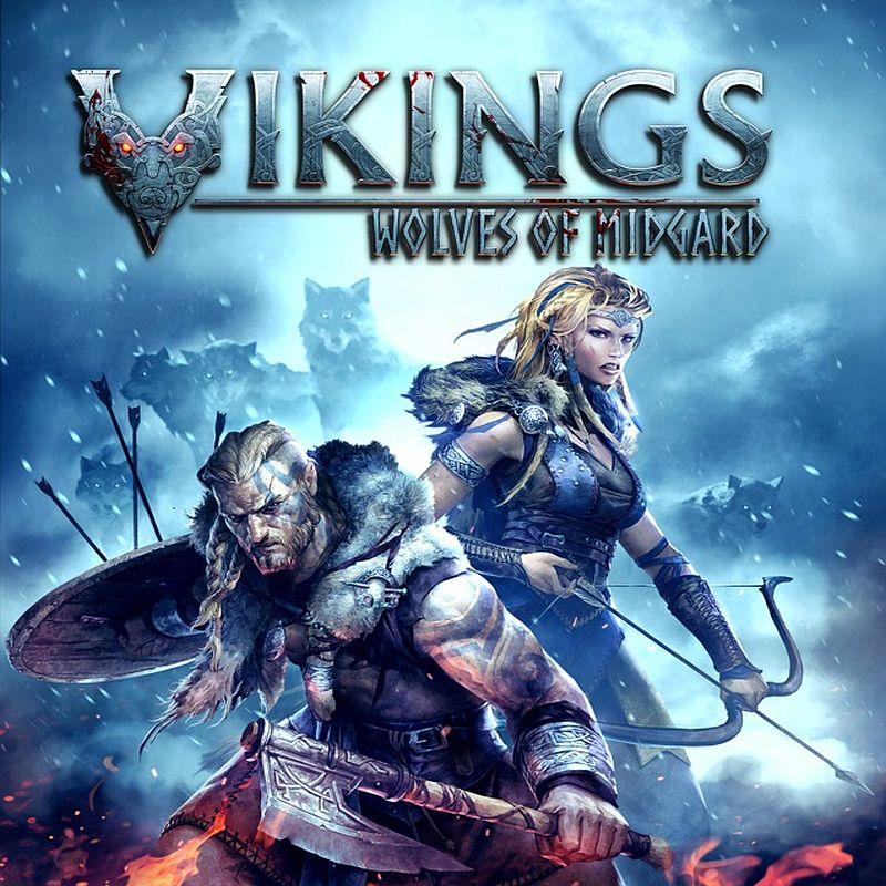 Vikings Wolves of Midgard logo